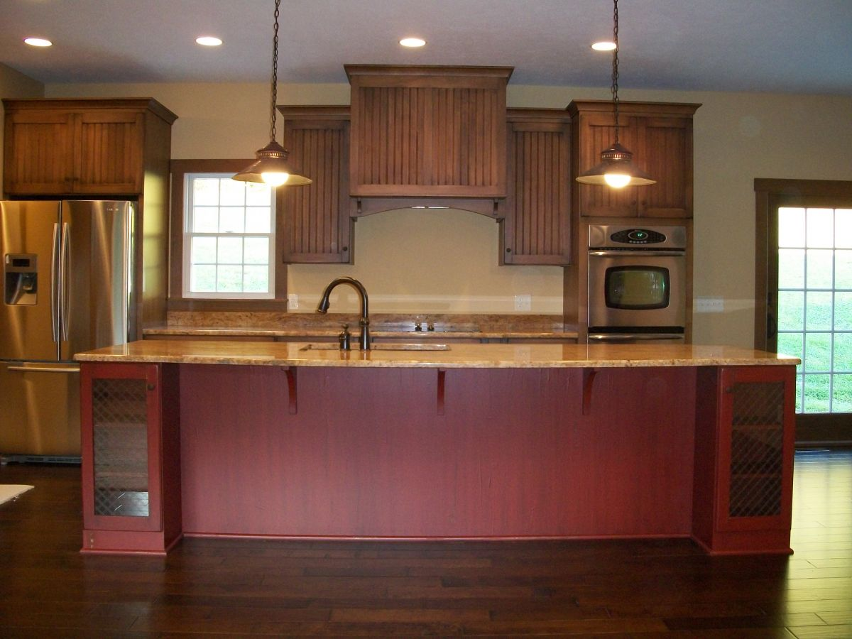 Hostetler builders for Country kitchen cabinets