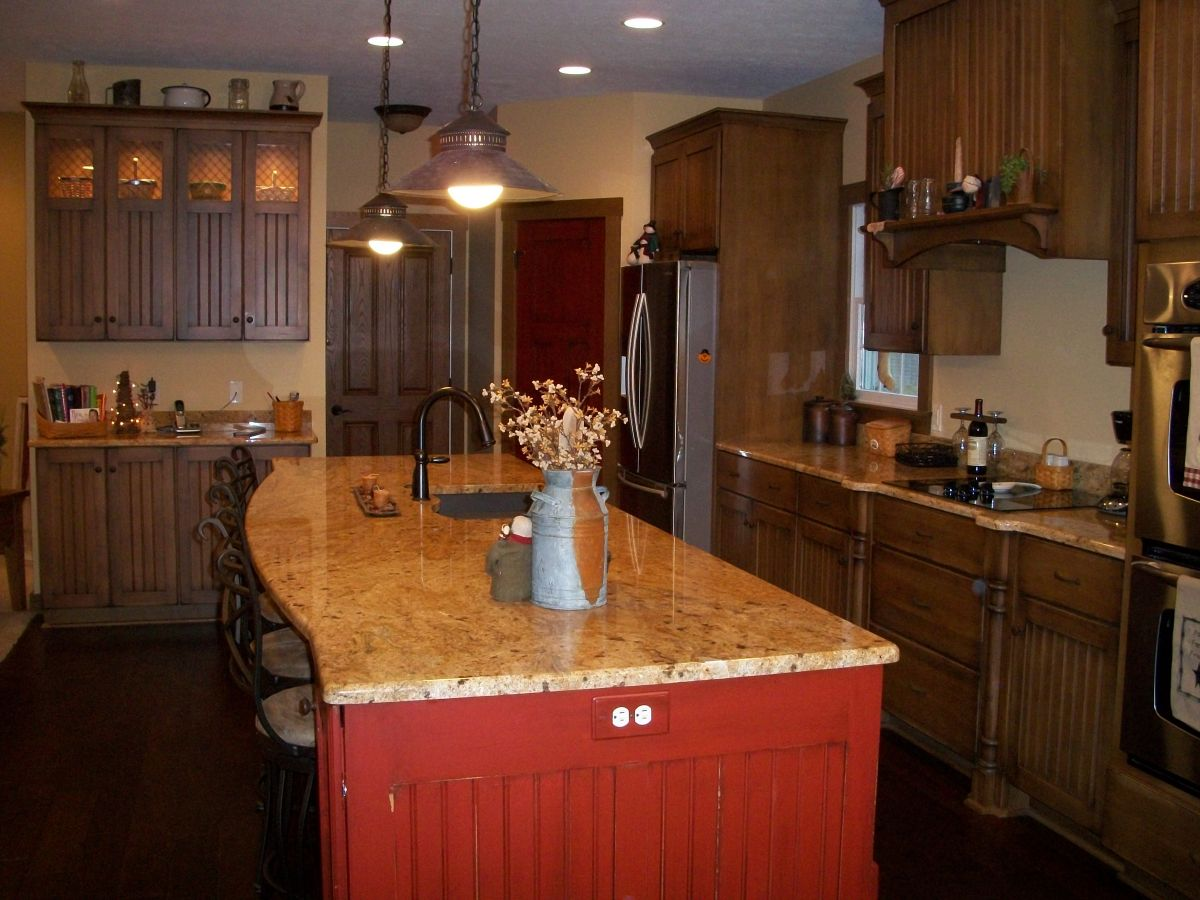 Primitive Kitchen Projects Details Hostetler Builders