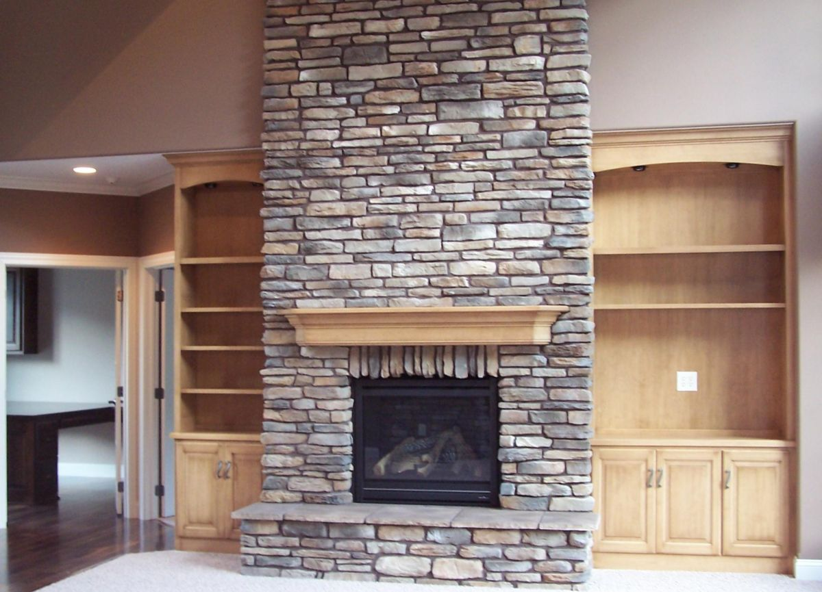 stone fireplace with built ins best 25 fireplace built ins ideas