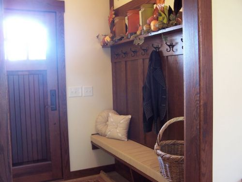 Entry with Built In Hall Tree