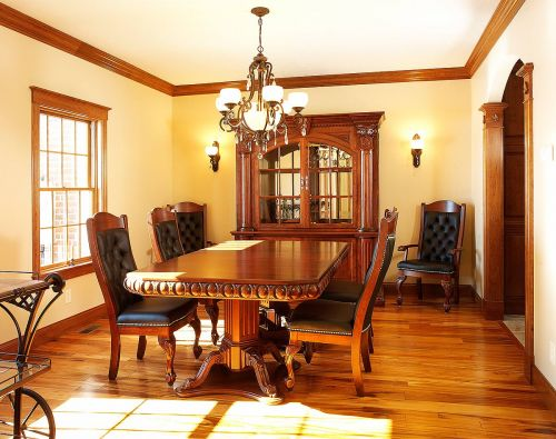 Substantial Dining Room