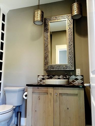Glitz Powder Room