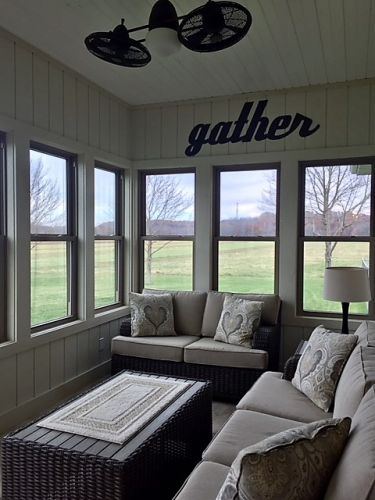 Runway Sunroom
