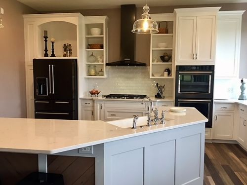 Transitional kitchen update
